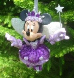 Disney Holiday Minnie Mouse Sugar Plum Fairy Ornament - Disney Theme Parks Exclusive & Limited Availability Disney Theme Park Christmas Ornaments