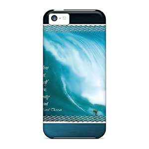 Faddish Phone Live In The Present Case For Iphone 5c / Perfect Case Cover hjbrhga1544
