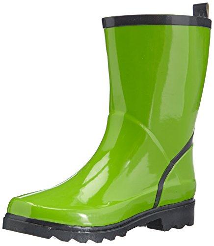 798 Grün Playshoes Vert Wellington De Wellies Boots grau grün Green Neige Femme Short Ankle Bottes p6w1gFpq