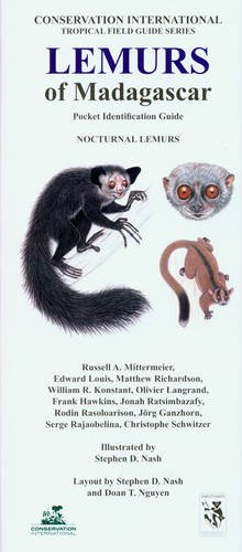 Lemurs of Madagascar: Nocturnal Lemurs (Conservation International Pocket Identification Guide)