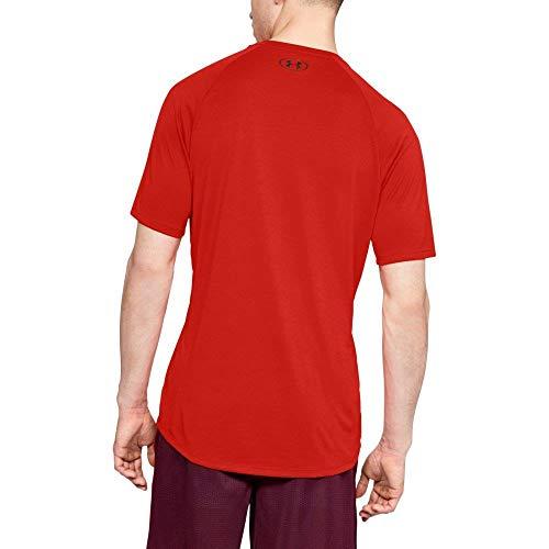 890 1326413 Armour Uomo Red Radio T Shirt Nero Under wCSaETxqx