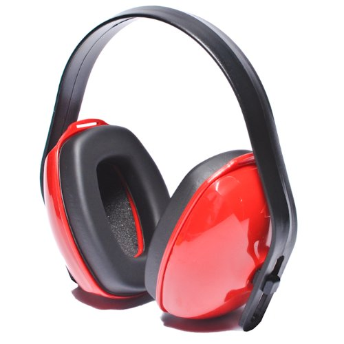 (Howard Leight by Honeywell QM24+ Multi-Position Dielectric Safety Earmuff (QM24), Red)