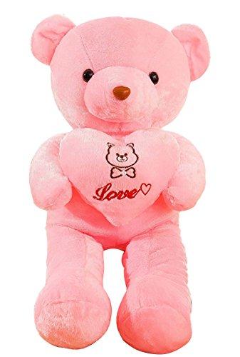 Stuffed Animal Teddy Bear Plush Soft Toy 80CM Huge Soft Toy Purple - 9