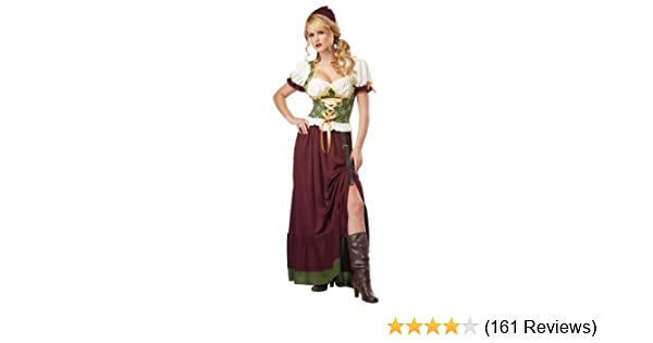 625cca2a600 Amazon.com  California Costumes Women s Renaissance Wench Adult  Clothing
