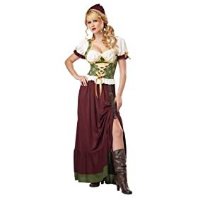 California Costumes Women's Renaissance Wenc...