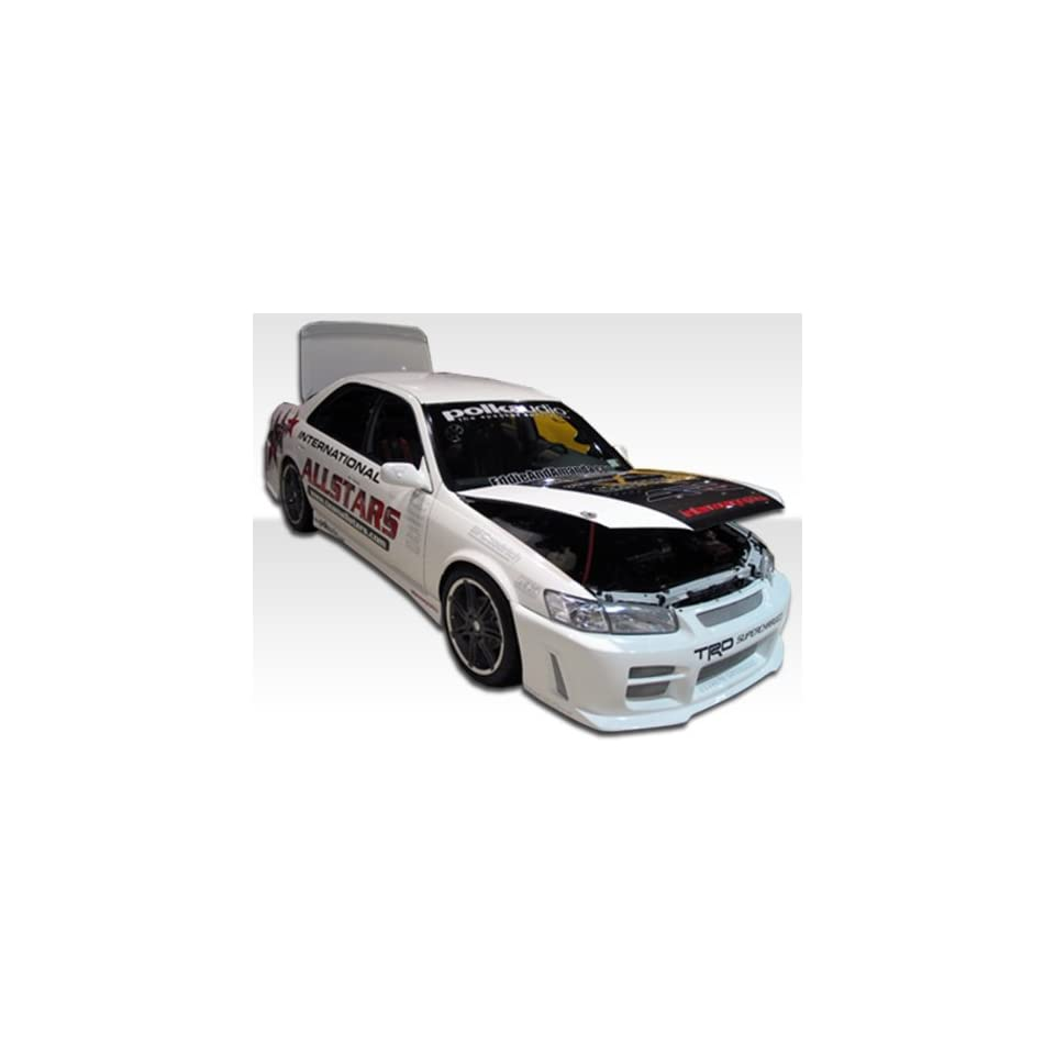 1997 2001 Toyota Camry Duraflex R34 Kit  Includes R34 Front Bumper (101929), Xtreme Rear Bumper (101925), and Xtreme Sideskirts (101926).