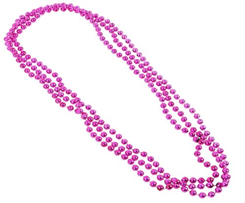 - Play Kreative Metallic Bead Necklaces -12 pk TM (Purple)