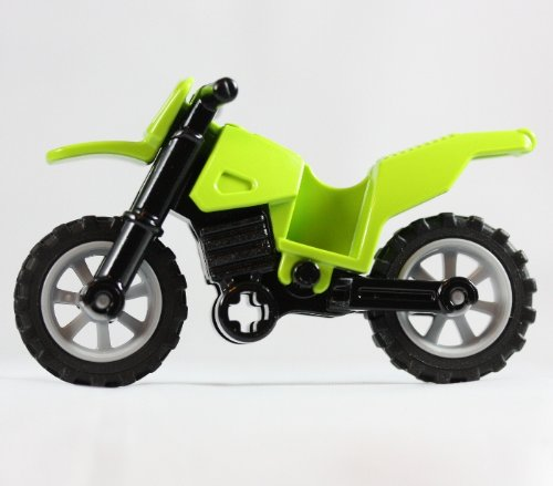 Lego Green Motorcycle Kawasaki Dirt Bike (Loose), Baby & Kids Zone