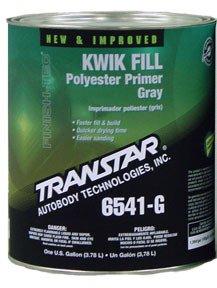 TRANSTAR (6541-G) Gray Kwik Fill Polyester Primer - 1 Gallon