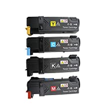 ShopCartridges ® Xerox 6500 4 Pack High Yield Compatible Replacements ( 106R01597 Black,1x 106R01594 Cyan,1x 106R01595 Magenta,1x 106R01596 Yellow). For use in the Xerox Phaser 6500, 6500N, 6500DN, Work Centre 6505