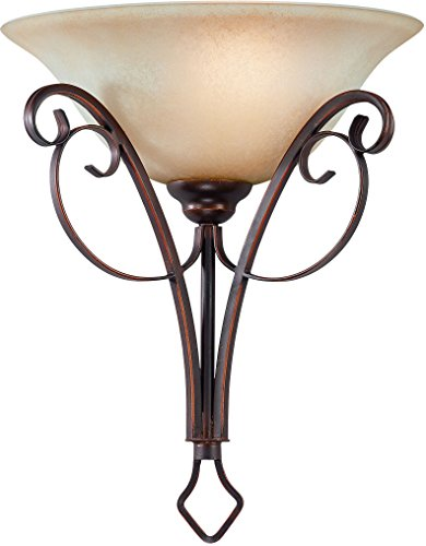 Jeremiah 21741-AGT Preston Place 1 Light Wall Sconce with Light (Augustine One Light)