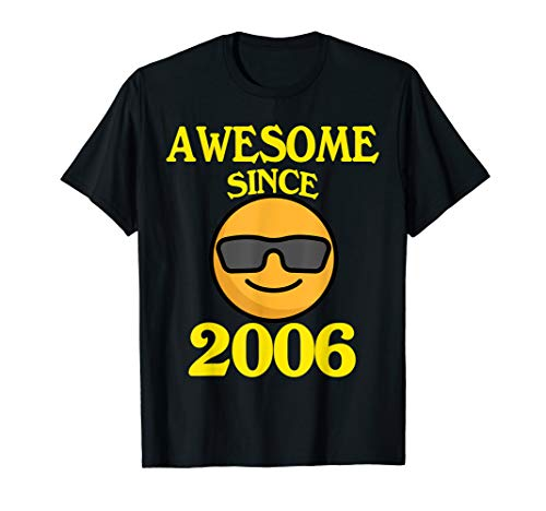 Awesome Since 2006 13th Years Old Shirt 13 Birthday Gift -