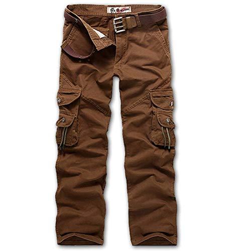 Adelina Pantaloni Da Lavoro Uomo Lunghi Abbigliamento Casual Con In Cotone Nero Kaffe
