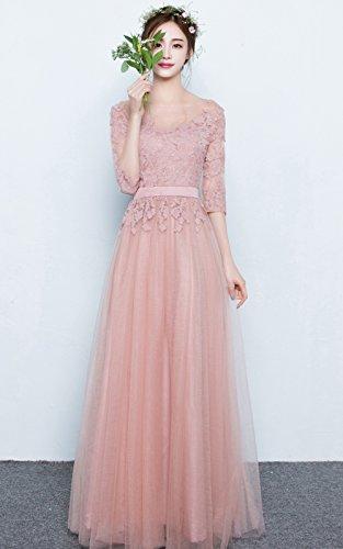 Vimans Damen A-Linie Kleid Gr. 46, grau