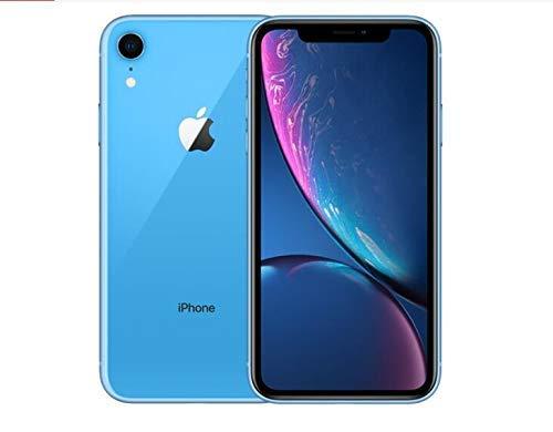Best Version Apple iPhone XR All Models OEM Replacement,Apple iPhone XR Replacement Back Glass Cover Back Battery Door w/Pre-Installed Adhesive (Blue)