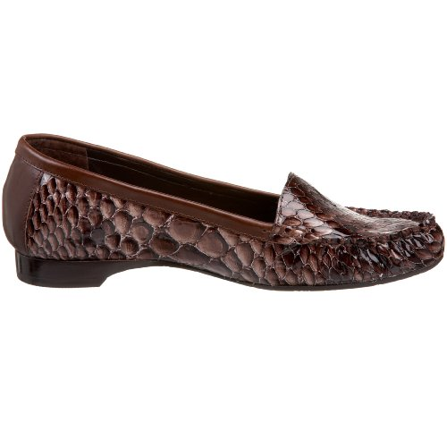 Diego Di Lucca Womens Kato Moccasin Brown