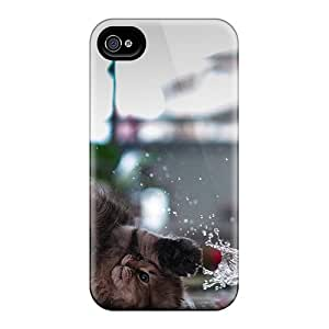 Pretty UCuuiWI682ZUunt Iphone 4/4s Case Cover/ Splash Fall Series High Quality Case