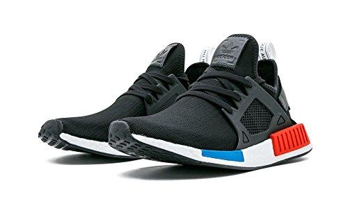 adidas Originals Men's NMD_XR1 PK Sneaker, Core Black/Core Black/White, 9 M US