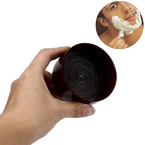 Ikevan Fashion Wooden Soap Bowls Men's Shaving Mug Bowl Cup For Shave Brush (No Shaving Brush )