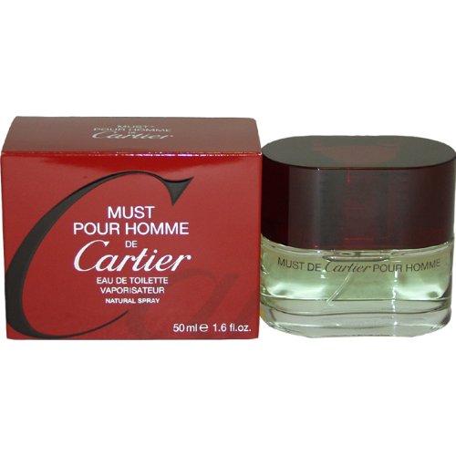 Must De Cartier By Cartier For Men. Eau De Toilette Spray 1.6 Ounces