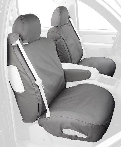 Covercraft Custom Fit Front Bucket Seatsaver Seat Covers Polycotton Fabric Grey