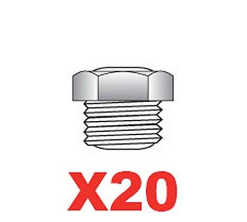 ITALO OTTINETTI Set 20 Ventile für Espressokocher, metallisch, Einheitsgröße