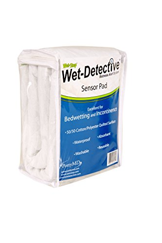 (Wet Detective Incontinence & Bedwetting Pad Only)