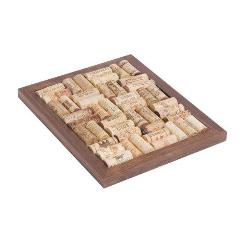 (Oenophilia Bamboo Corkboard Trivet Kit)