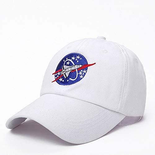 JINRMP Outer Space Fans Universe Spacecraft Spaceman Explorer Cotton Baseball Cap Hat Women Men Casual Dad Hats ()