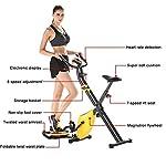 Stoge-Spin-Bike-Cyclette-Fisse-per-Ciclismo-Indoor–Resistenza-Regolabile-per-Spin-Bike-con-Monitor-LCD-Allenamento-Cardio-per-Esercizi-A-Casa