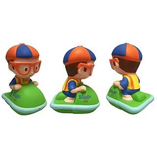 U.C.C. Distributing Floating Blippi Bath Squirter Toy Figure - Jet Ski Blippi