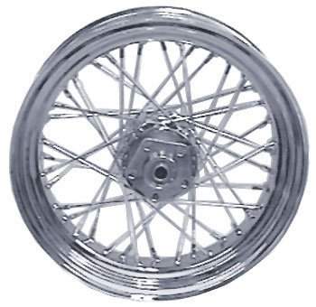 Ultima Complete 40 Spoke Chrome 16 X 3 Rear Wheel For Harley-Davidson