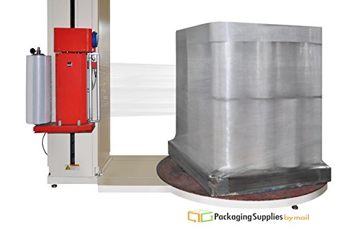 Cast Machine Film Clear Stretch Wrap by PSBM 20'' x 6000 feet x 80 Gauge 1 Roll by PackagingSuppliesByMail