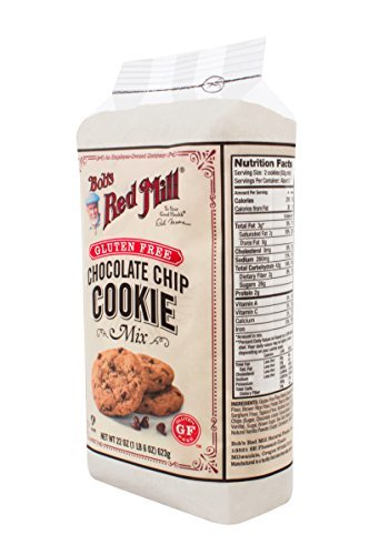 Bob's Red Mill Gluten Free Chocolate Chip Cookie Mix, 22-Ounce (Pack of 4) by Bob's Red Mill