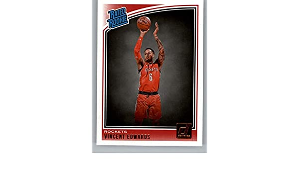 53406eaa8 Amazon.com  2018-19 Donruss  165 Vincent Edwards Houston Rockets Rookie  Basketball Card  Collectibles   Fine Art
