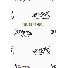Bullet Journal: Lazy Unicorn Dot Grid Journal | 120 Pages | Unicorn Fantasy Bullet Journal