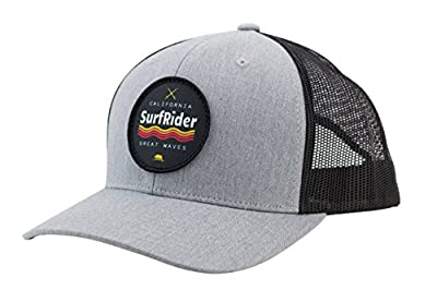 Men's California Surf Rider Logo Baseball Cap Trucker Hat