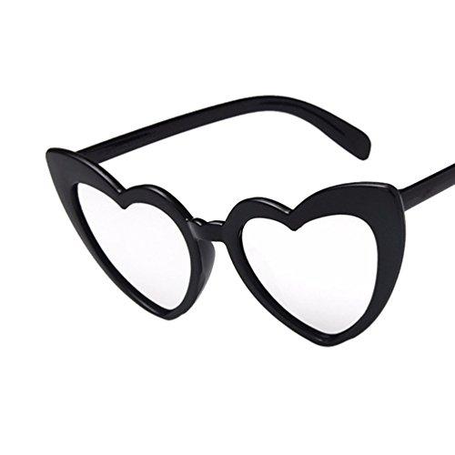 Gafas Con Ketamyy Precioso Negro Polarizados Plateado De Sol De Mujer Nuevo Corazón Moda Forma De Marco xqIUIrTXzw
