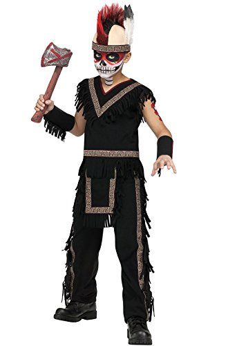 Native American Indian Brave Boy Kids Costume - Mohawk Indian Costume