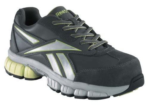 Reebok Work Women's Ketia RB442,Grey/Green,US 8 M by Reebok
