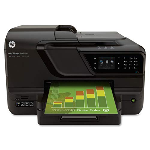 HP Officejet Pro 8600 e-All-in-On Wireless Color Printer with Scanner, Copier & Fax (Renewed)