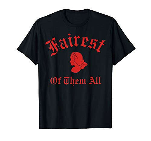 Disney Snow White Fairest of Them All Silhouette Graphic Tee -