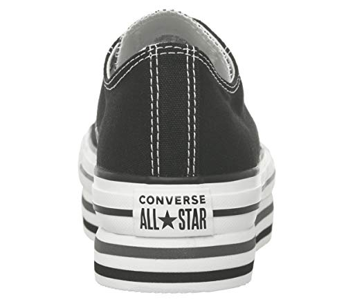 Star All Chuck Converse Sneakers Taylor Nero Ox Platform Layer Donna gv6wTqAX
