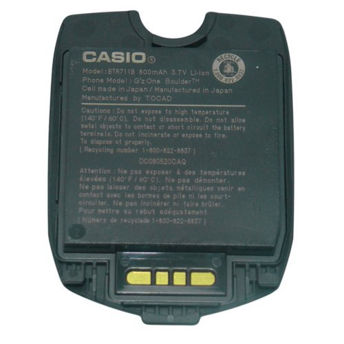 Gzone Boulder Utstarcom - OEM CASIO VERIZON G'ZONE BOULDER C711 BATTERY