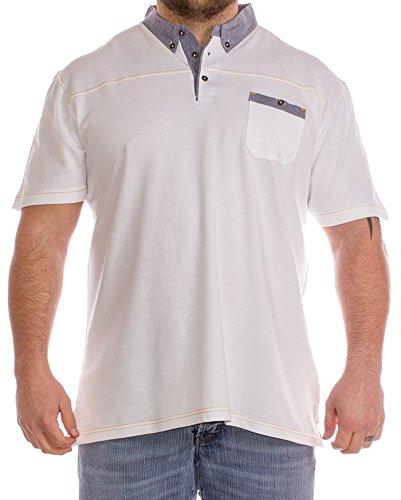 Cargo Bay Herren Poloshirt weiß weiß