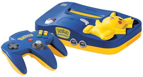 Nintendo 64 System Console Pikachu Version