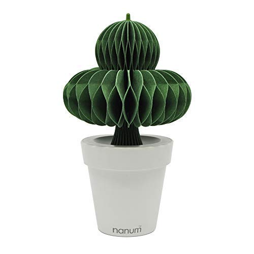 (PIOZIO Nanum Lovepot Aroma Diffuser and Humidifier, Non-Electric, Natural Evaporation (Clover, Green))