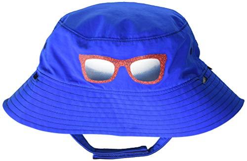 Columbia Kids & Baby Endless Explorer Reversible Bucket Hat, Super Blue, Small/Medium