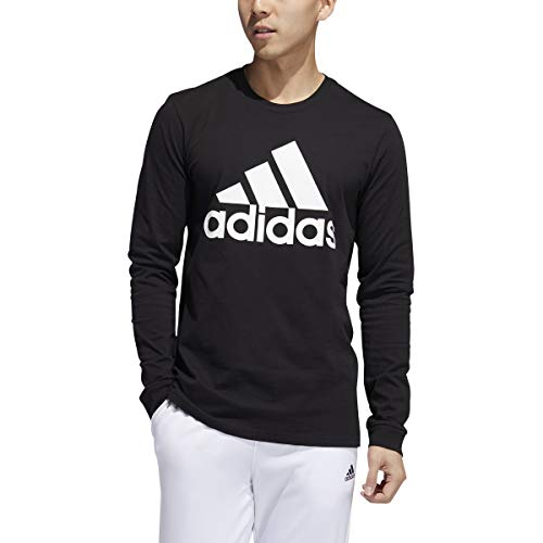 adidas Men's Basic Badge of Sport Long Sleeve Tee