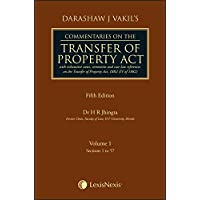 Darashaw Vakil's Commentaries on the Transfer of Property Act (Set of 2 Volumes)